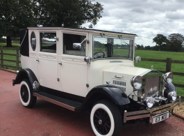Vintage wedding car hire in Watford